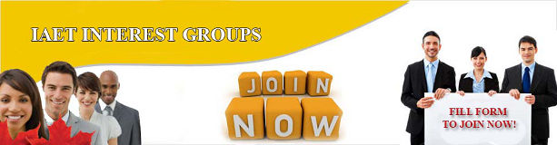 IAET Interest Group Join Now.